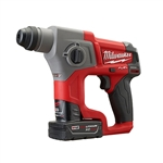 "2416-22XC M12 FUEL 5/8"" SDS Plus Rotary Hammer Kit by Milwaukee Tool"