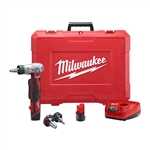 Milwaukee 2432-22 M12 Cordless ProPEX Expansion Tool, Battery M12 REDLITHIUM