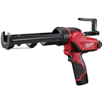Milwaukee 2441-21 Bare Tool M12 Cordless Caulk Gun 12v