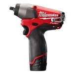 "2454-22 M12 FUEL 3/8"" Impact Wrench Kit by Milwaukee Tool"