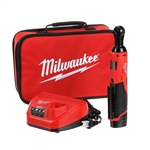 "2457-21 M12 Cordless 3/8"" Ratchet Kit by Milwaukee"
