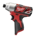 Cordless 2462-20 12-volt 1/4 Inch Hex Impact Driver by Milwaukee