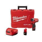 Milwaukee 2553-22 M12 FUEL 1/4 in. Hex Impact Driver Kit