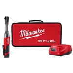 Milwaukee 2560-21 M12 FUEL 3/8 in. Extended Reach Ratchet 1 Battery Kit