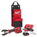 Milwaukee M18 FORCE LOGIC 6T Utility Crimper Kit 2678-22BG