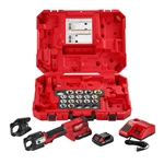 Milwaukee 2679-750A M18 Force Logic 600 MCM AI Crimper Kit w/750 MCM Expanded Jaw