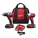 Milwaukee 2691-22 M18 18V Drill and Impact Driver 2-Tool Cordless Combo Kit (2 Ah)