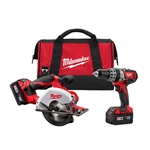 2698-22 Milwaukee M18 Cordless Combo Kit
