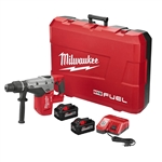 Milwaukee 2717-22HD M18 FUEL SDS-MAX Rotary Hammer Kit (w/ Two Batteries)