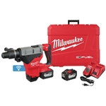 Milwaukee 2718-22HD M18 FUEL 1-3/4 in. SDS MAX Rotary Hammer Kit with Two 12.0 Batteries