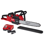 "Milwaukee 2727-21HD M18 FUEL 16"" Chainsaw Kit with 12.0 Ah Battery"