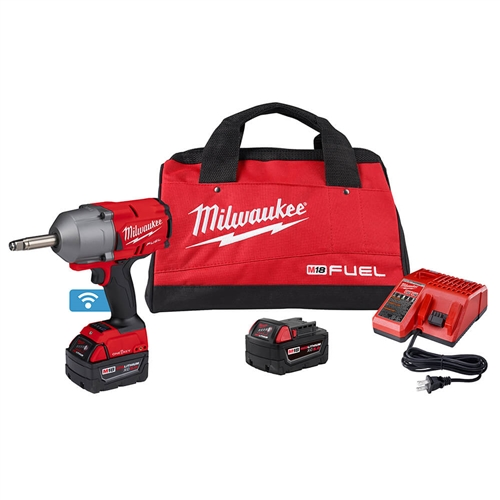 Milwaukee 2769-22 M18 FUEL 1/2 in. Ext. Anvil Controlled Torque Impact Wrench w/ONE-KEY Kit