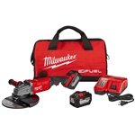 Milwaukee 2785-22HD M18 FUEL 7 in. / 9 in. Large Angle Grinder (2 Battery Kit)