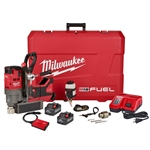 "Milwaukee 2788-22HD M18 Fuel 1-1/2"" Lineman Magnetic Drill High Demand Kit"