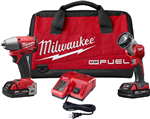 Milwaukee 2795-22CT  M18 FUEL 2-Tool Compact Combo Kit with ONE-KEY