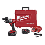 Milwaukee 2804-22 M18 FUEL 1/2 in. Hammer Drill/Driver Kit