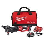 Milwaukee 2811-22 M18 FUEL Super Hawg Right Angle Drill w/Quik-Lok - 6.0 Kit