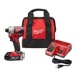 Milwaukee 2850-21P M18 1/4 in. Hex Impact Driver Kit
