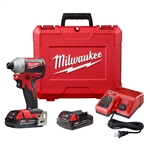 Milwaukee 2850-22CT M18 1/4 in. Hex Impact Driver Kit