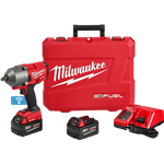 Milwaukee 2862-22 M18 FUEL with ONE-KEY High Torque Impact Wrench 1/2 in. Pin Detent Kit