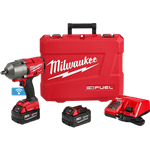 Milwaukee 2863-22 M18 FUEL High Torque Impact Wrench 1/2 in. Friction Ring Kit