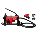 Milwaukee 2871-22 M18 FUEL Sewer Sectional Machine with Cable Drive