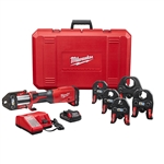 "Milwaukee 2922-22 M18 FORCE LOGIC Press Tool with 1/2"" - 2"" CTS Jaws"