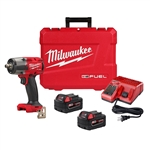 Milwaukee 2962-22 M18 FUEL 1/2 in. Mid-Torque Impact Wrench w/ Friction Ring Kit