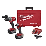 Milwaukee 2997-22 M18 FUEL 2 Tool Combo Kit: Hammer Drill/Impact
