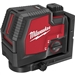Milwaukee 3522-21 USB Rechargeable Green Cross Line and Plumb Points Laser