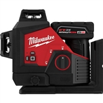 Milwaukee 3632-21 M12 Green 360 Degree 3-Plane Laser Kit