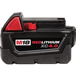 Milwaukee 48-11-1840 M18 RedLithium 4.0 Ah Extended Capacity Battery Pack