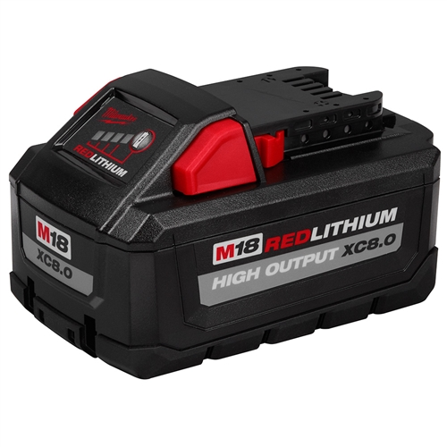 Milwaukee 48-11-1880 RedLithium High Output XC8.0 Battery