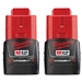 Milwaukee 48-11-2411 M12 RedLithium 2 Pack Battery