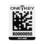 Milwaukee 48-21-0002 ONE-KEY Asset ID Tag - Lg. Plastic Surface
