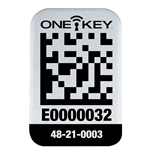 Milwaukee 48-21-0003 ONE-KEY Asset ID Tag - Sm. Metal Surface