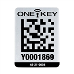 Milwaukee 48-21-0004 ONE-KEY Asset ID Tag - Lg. Metal Surface