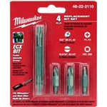 48-22-2110 - Milwaukee 11In 1 Replacement Bit Set - 48222110