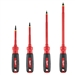Milwaukee 4 PC 1000V Insulated Screwdriver Set with Square Recess 48-22-2205