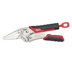 "48-22-3406 6"" TORQUE LOCK Long Nose Locking Pliers with Durable Grip by Milwaukee Tools"