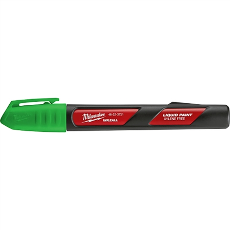 (12) INKZALL Green Paint Marker