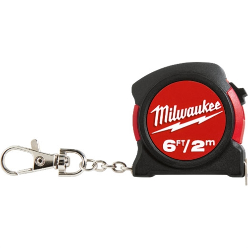 6ft / 2M KEYCHAIN TAPE MEASURE (Bulk)
