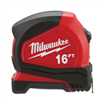 Milwaukee 48-22-6616 16 ft Compact Tape Measure