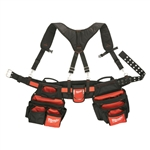 Milwaukee 48-22-8120 Contractor Work Belt with Suspension Rig