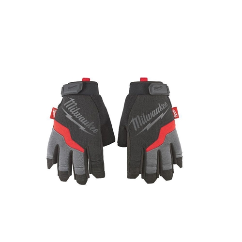 Milwaukee 48-22-8741 Medium Fingerless Work Gloves