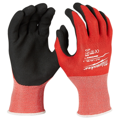 Milwaukee 48-22-8900 Cut Level 1 Dipped Gloves
