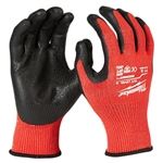 Milwaukee 48-22-8930B ANSI Cut Level 3 Nitrile Dipped Gloves 12 Pack