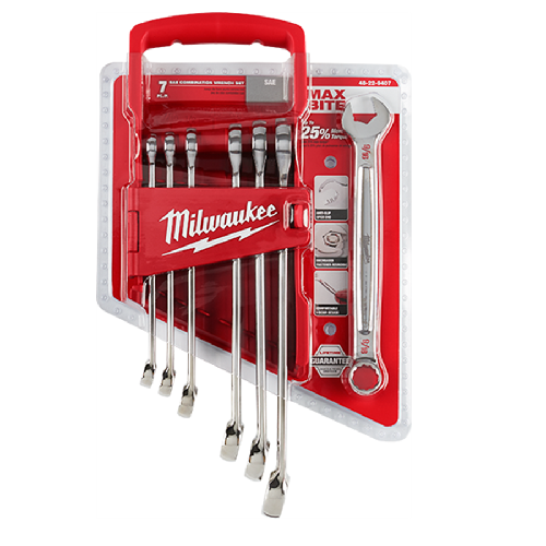 Milwaukee 48-22-9407 7pc Wrench Set - SAE