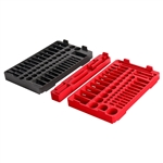 Milwaukee 48-22-9486T 106pc. 1/4 and 3/8 in. Drive Ratchet and Socket Trays - SAE and Metric
