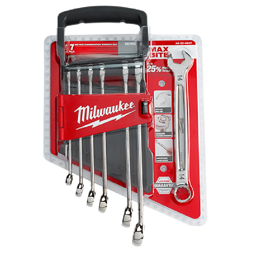Milwaukee 48-22-9507 7pc Wrench Set - Metric